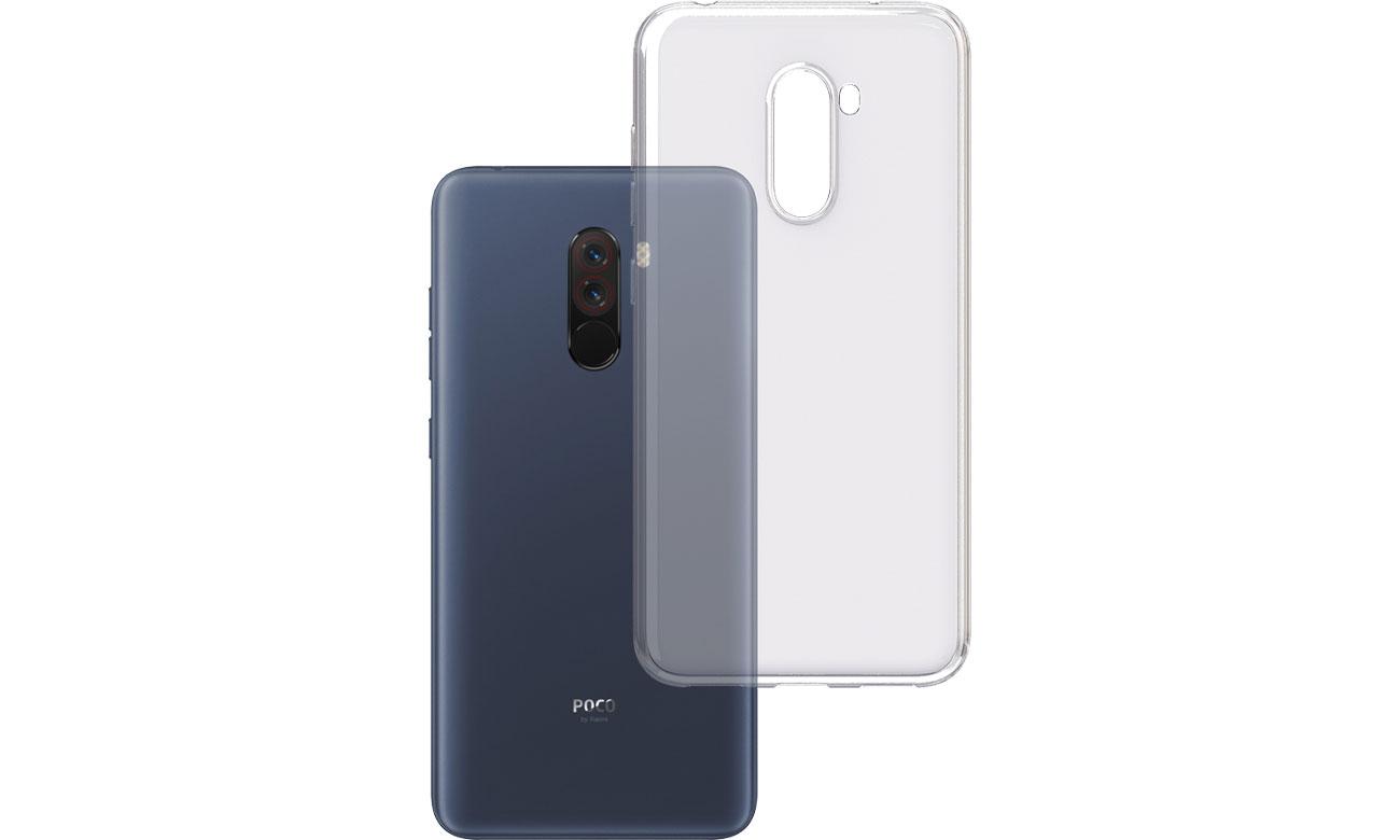 Etui 3mk Clear Case do Xiaomi Pocophone F1 5903108047906