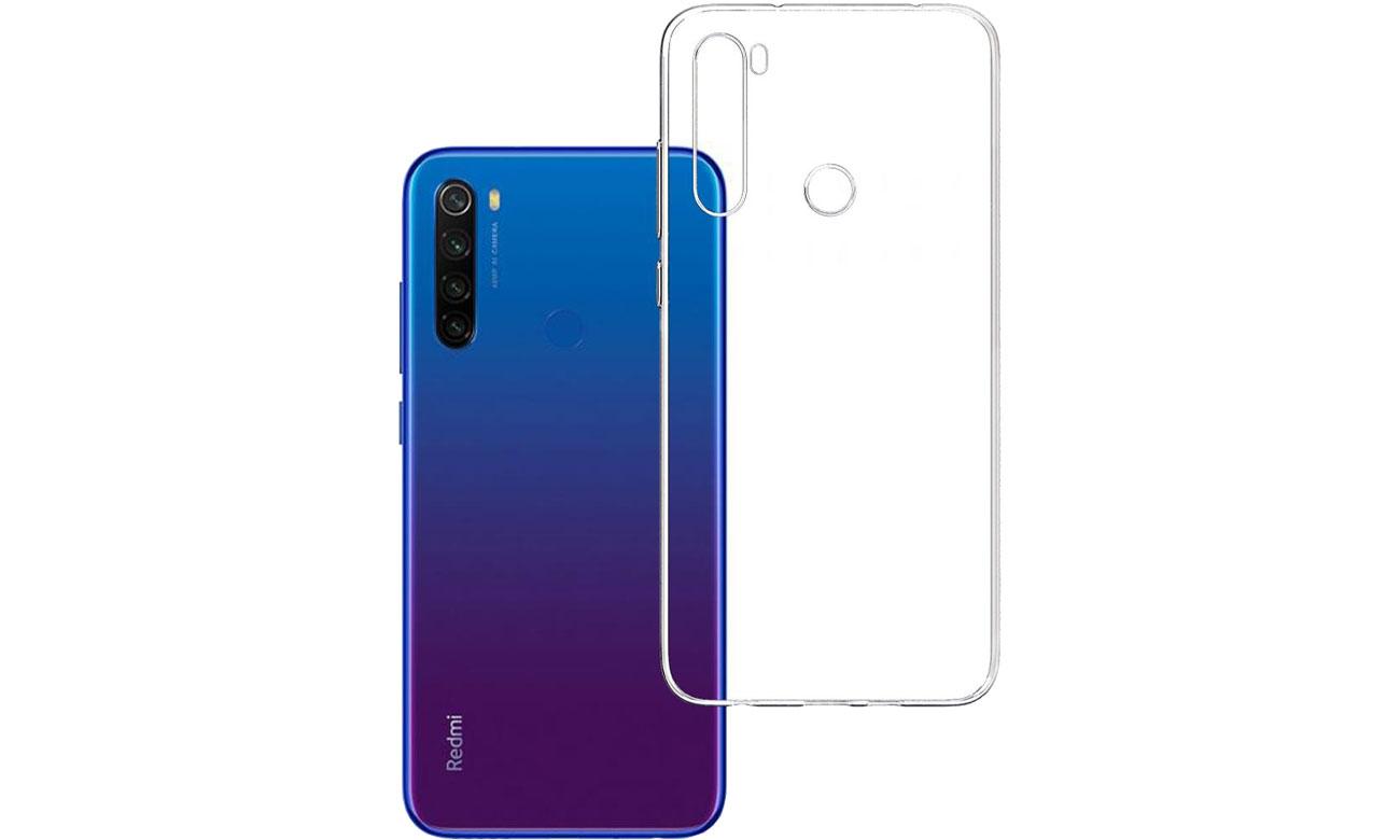 Etui 3mk Clear Case do Xiaomi Redmi Note 8t 5903108221429