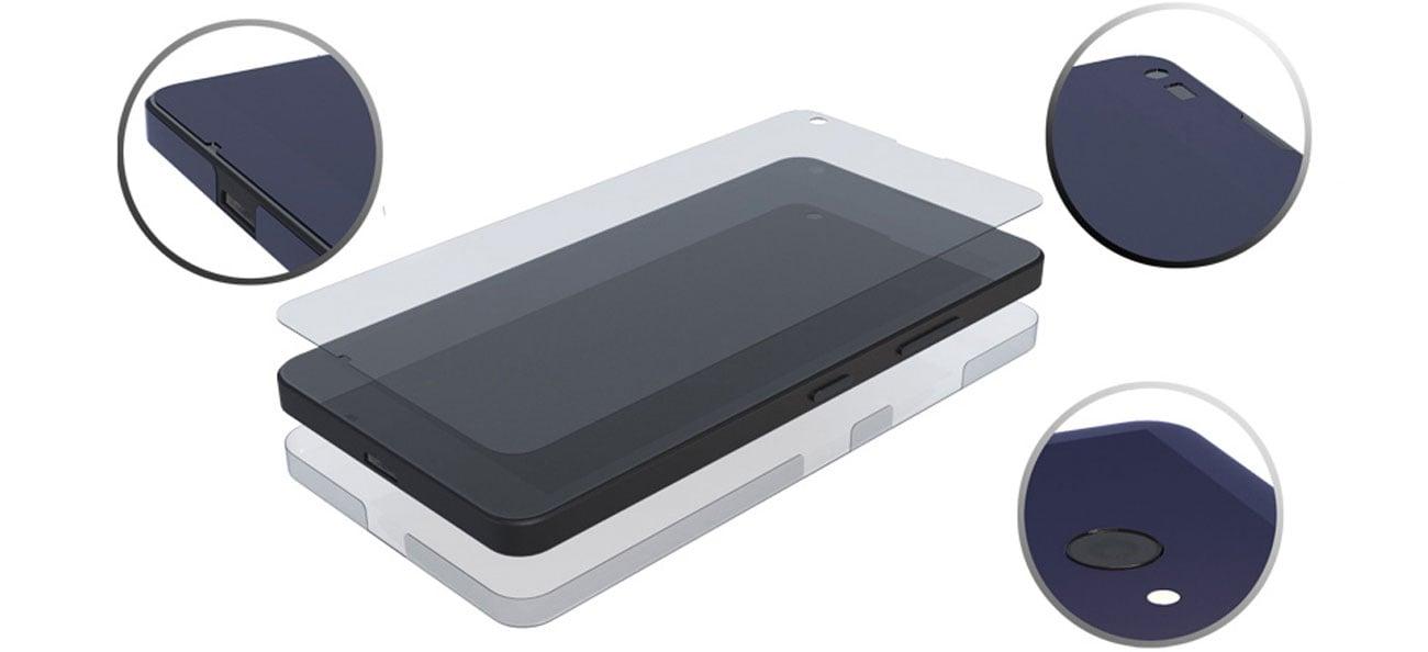 3mk FlexibleGlass 3D Niewidoczne etui dla telefonu