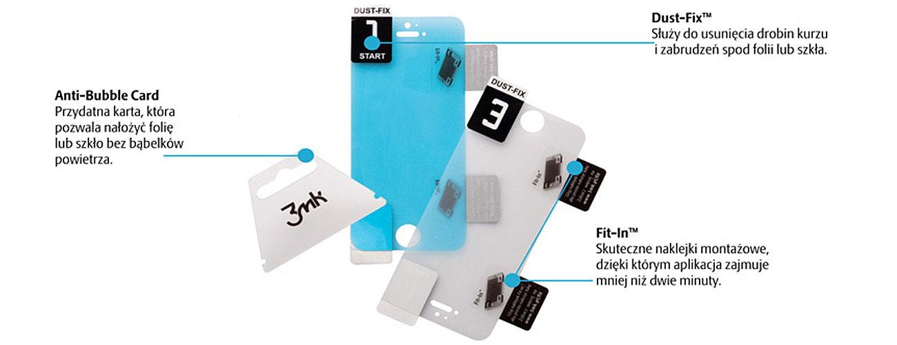 3mk FlexibleGlass 3D Dołączone akcesoria
