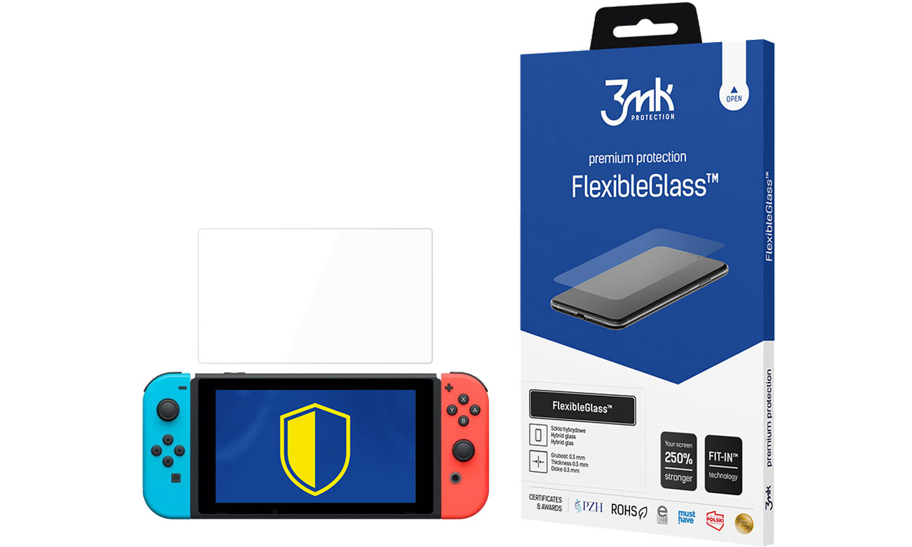 3mk FlexibleGlass do Nintendo Switch