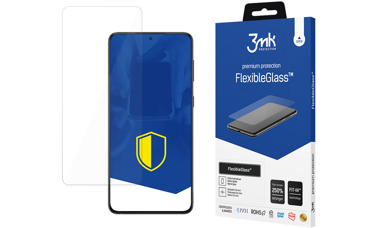 3mk FlexibleGlass do Samsung Galaxy S21+