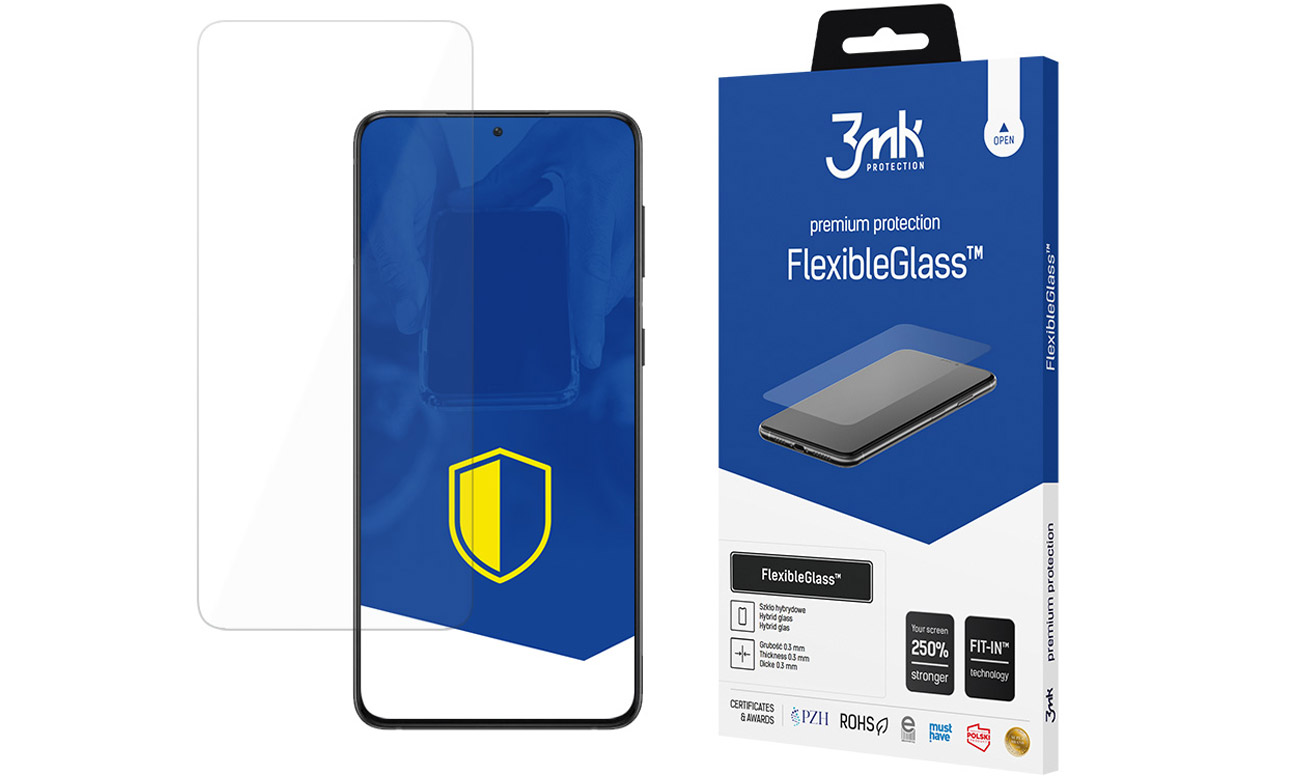 3mk FlexibleGlass do Samsung Galaxy S21