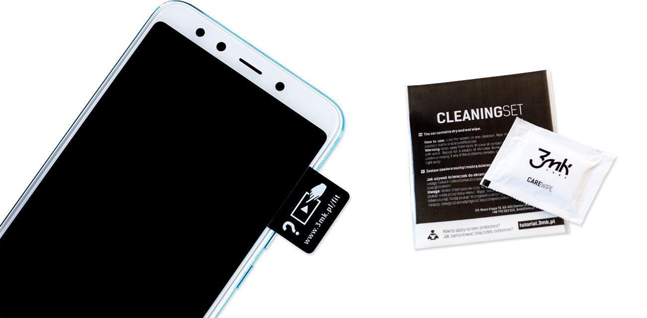 3mk Flexible Glass Lite Zawartość zestawu