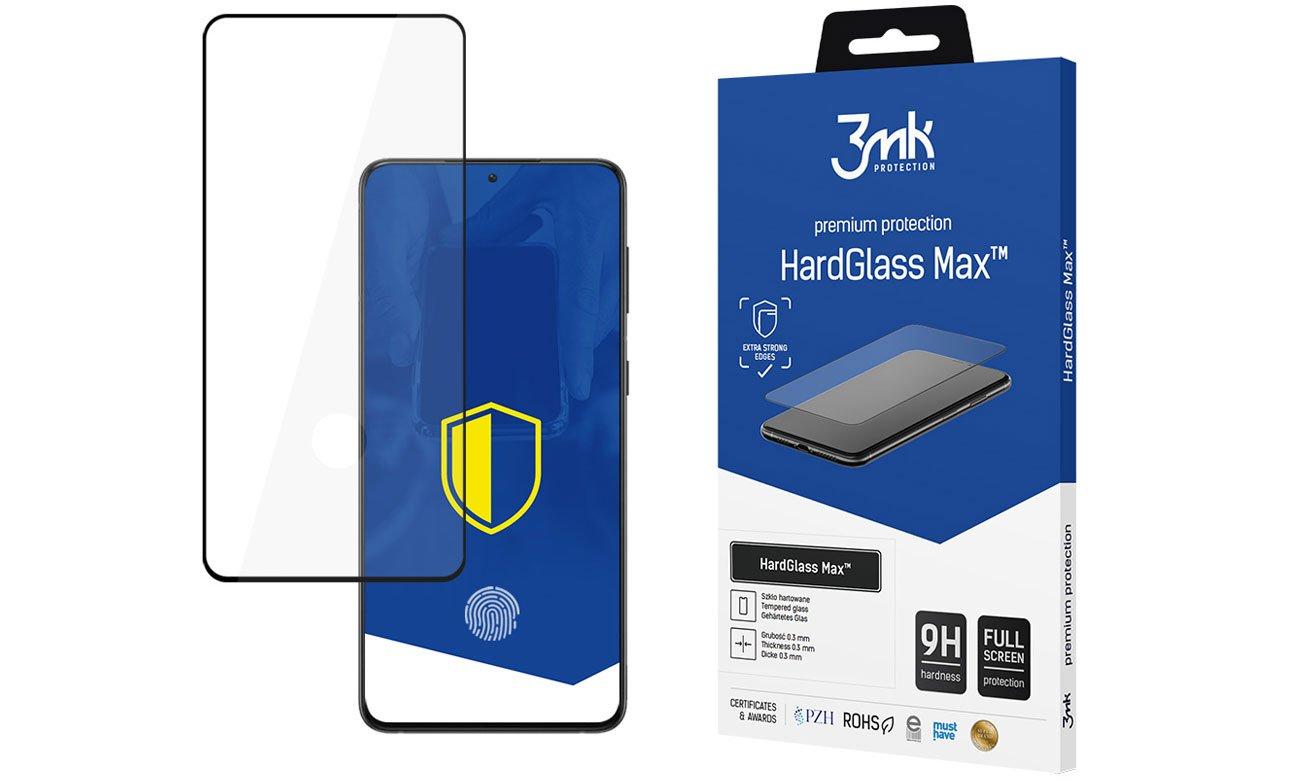 Szkło 3mk HardGlass Max do Samsung Galaxy S21+