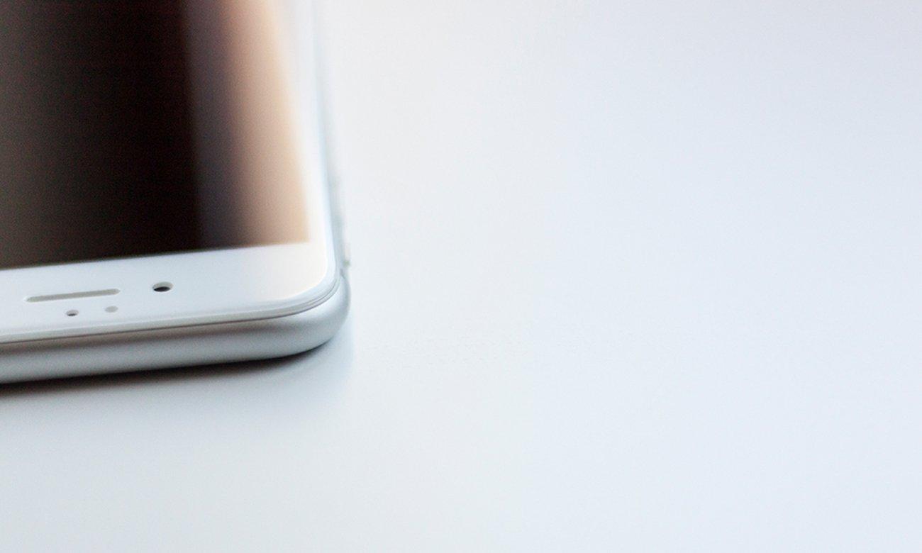 Idealne pokrycie zaokrąglonych brzegów ekranu