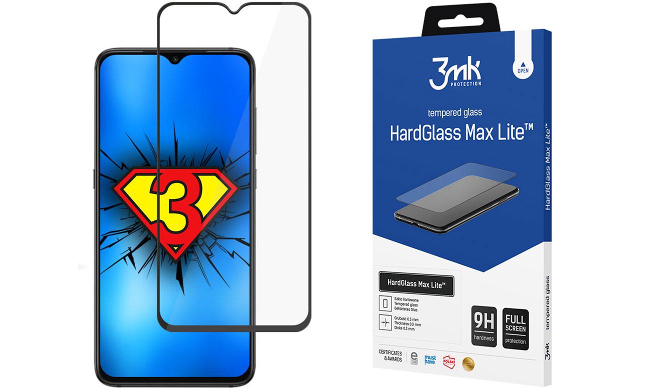 3mk HardGlass Max Lite do Xiaomi Redmi 9/9A/9C