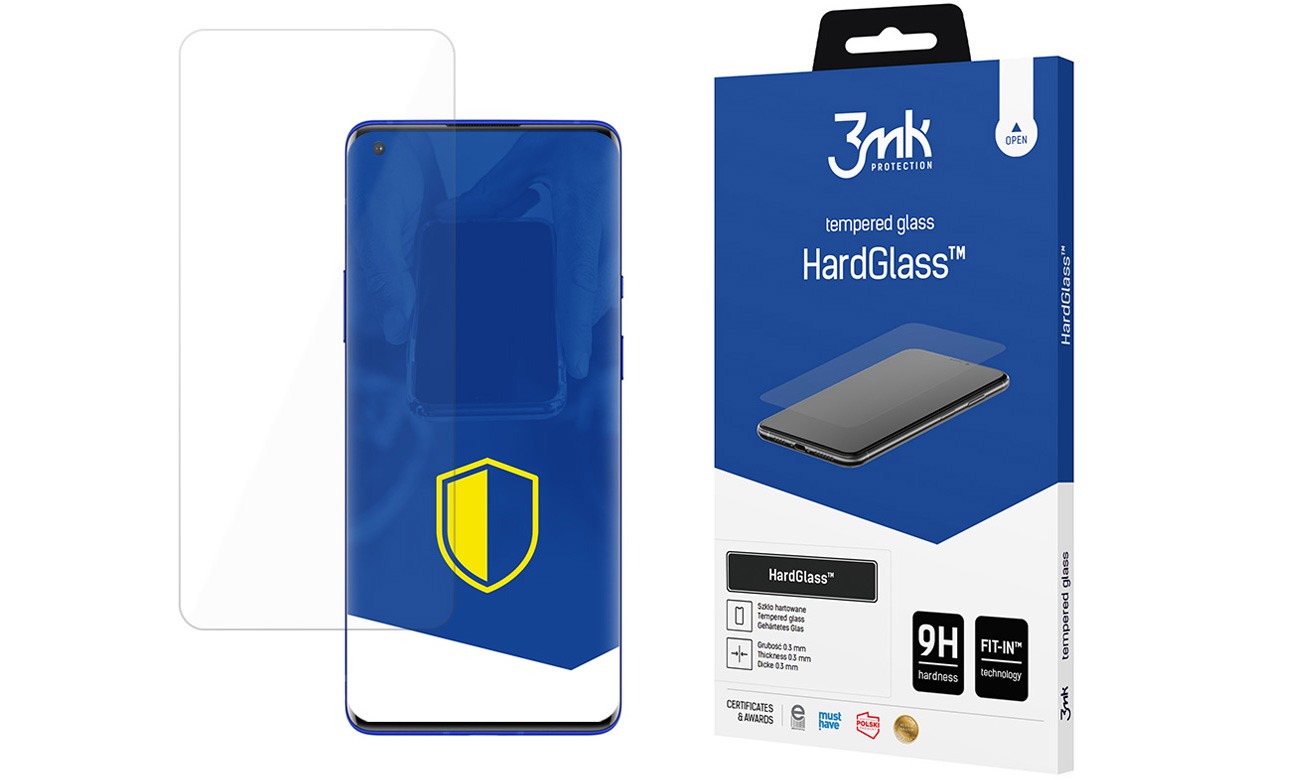 Szkło ochronne 3mk HardGlass do OnePlus 9