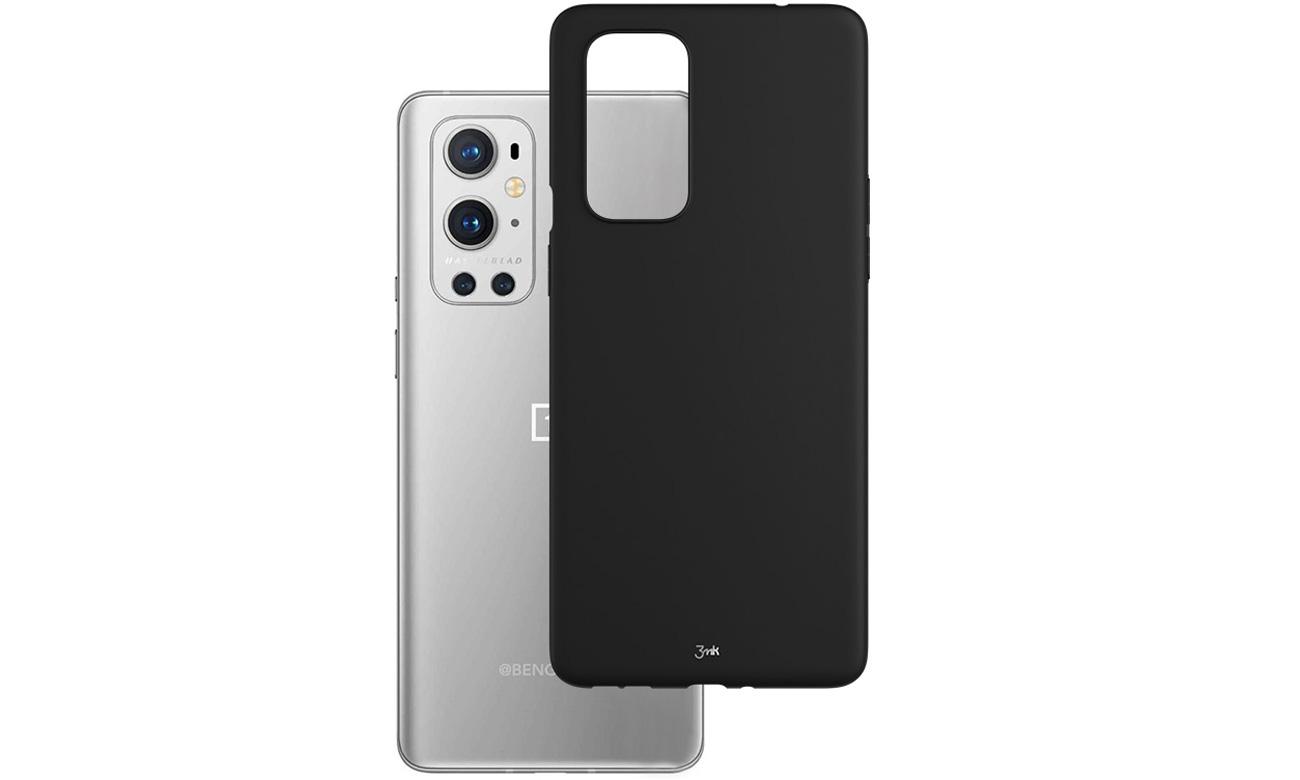 Etui 3mk Matt Case do OnePlus 9 Czarne