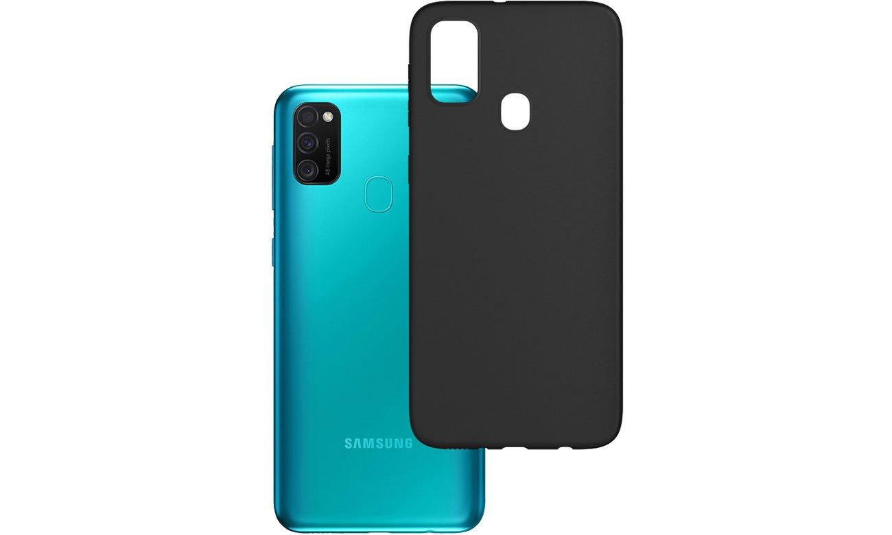 Etui 3mk Matt Case do Samsung Galaxy M21 czarny 5903108254861