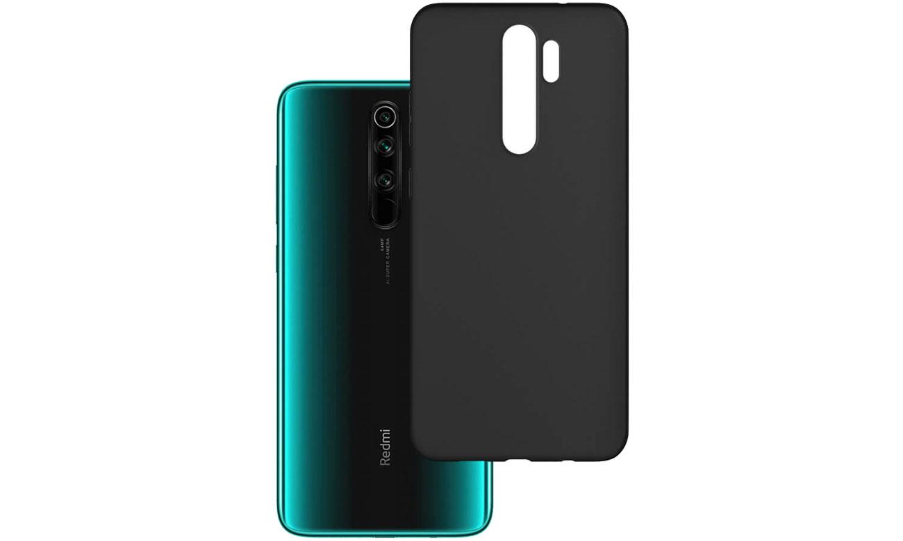 Etui 3mk Matt Case do Xiaomi Redmi Note 8 Pro czarny 5903108232340