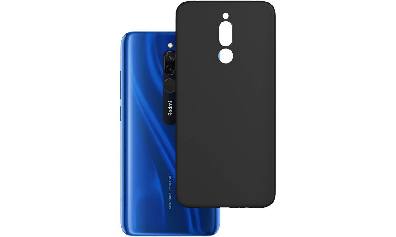 Etui 3mk Matt Case do Xiaomi Redmi 8 czarny 5903108232319