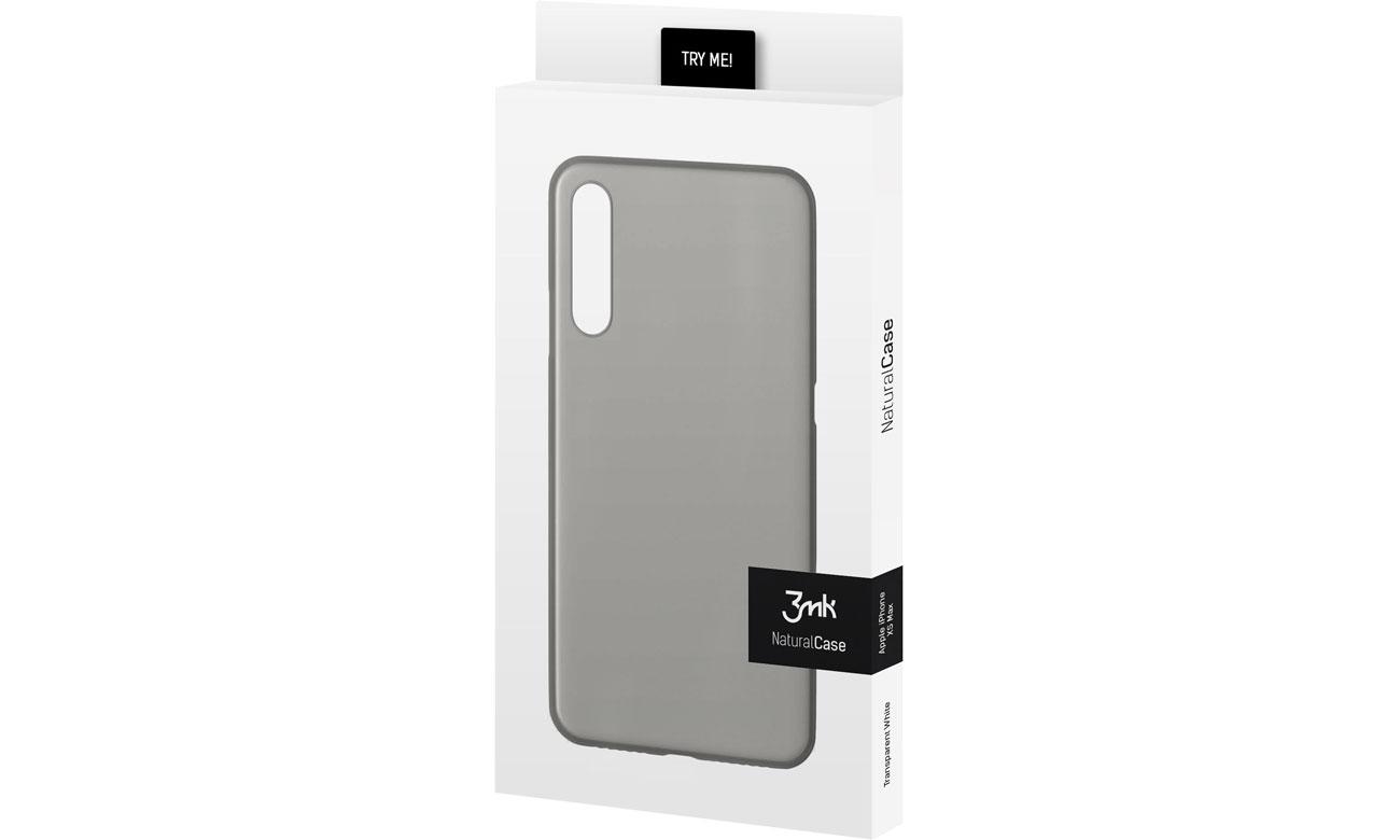 3mk Natural Case do Natural Case do Xiaomi Mi 9 Black 5903108086899