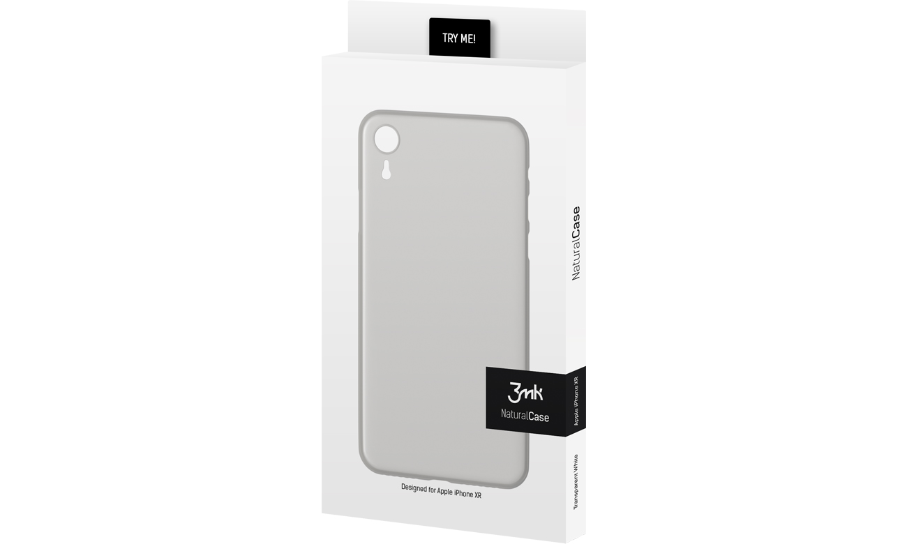 3mk Natural Case do iPhone Xr White 5903108046602