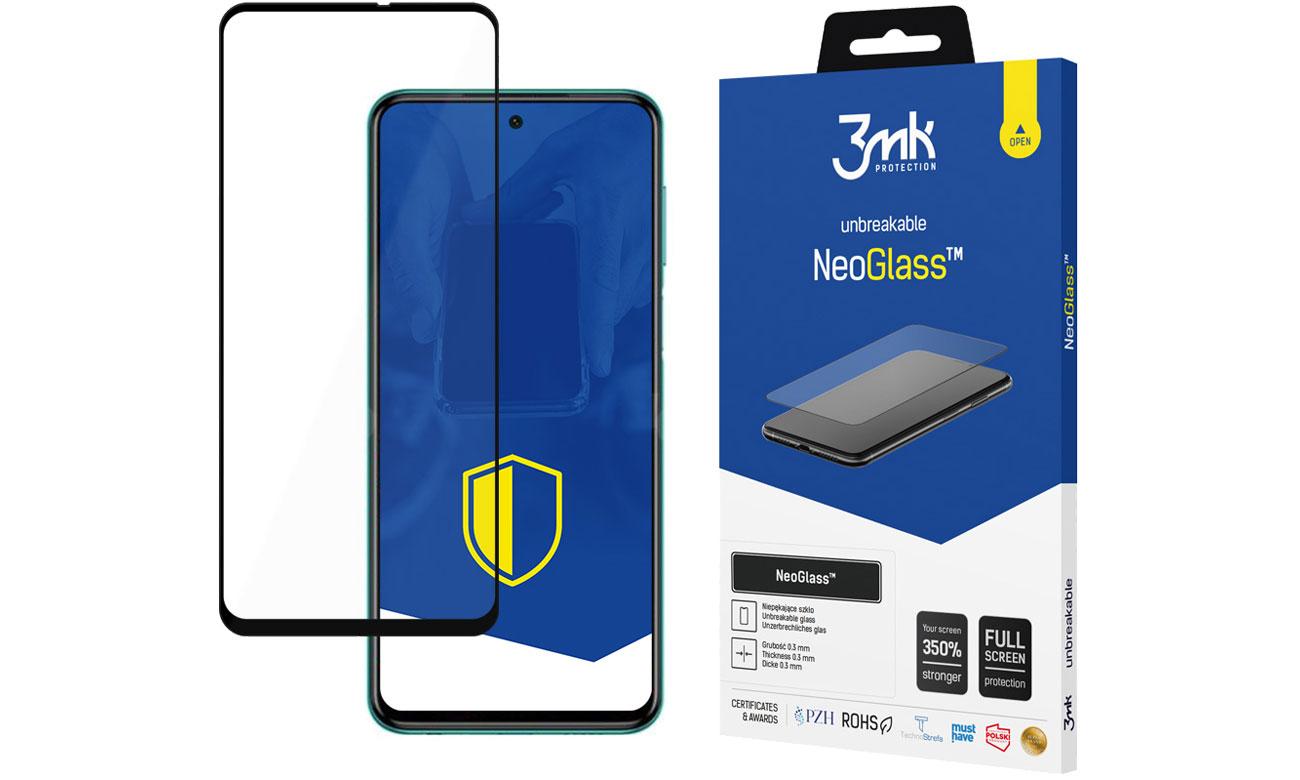Niepękające szkło 3mk NeoGlass do Xiaomi Redmi Note 9S / 9 Pro
