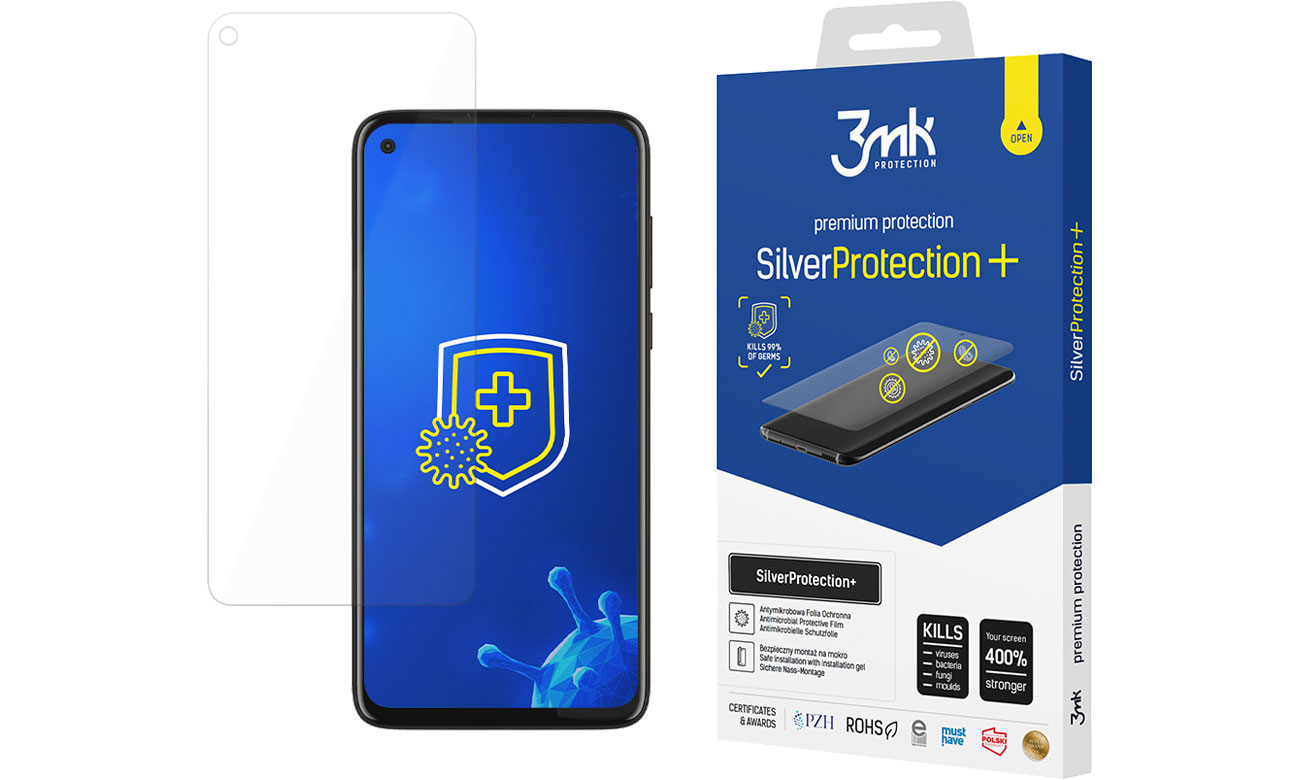 Folia / szkło na smartfon 3mk SilverProtection+ do Motorola Moto G8 Power 5903108303125