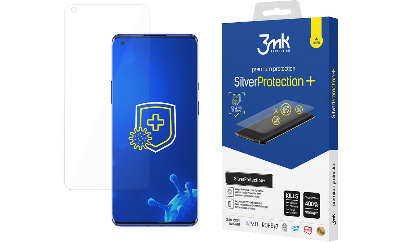 Folia / szkło na smartfon 3mk SilverProtection+ do OnePlus 8 Pro 5903108303408