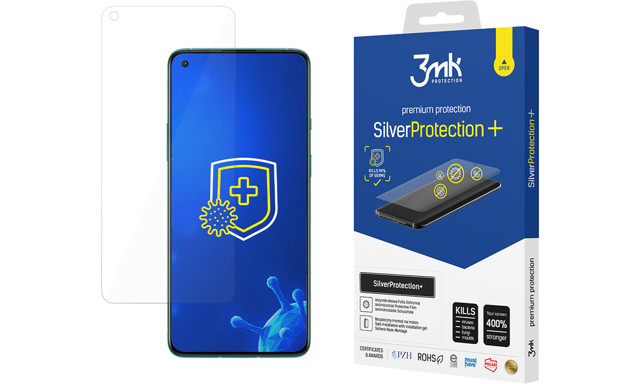 Folia / szkło na smartfon 3mk SilverProtection+ do OnePlus 8T 5903108324427