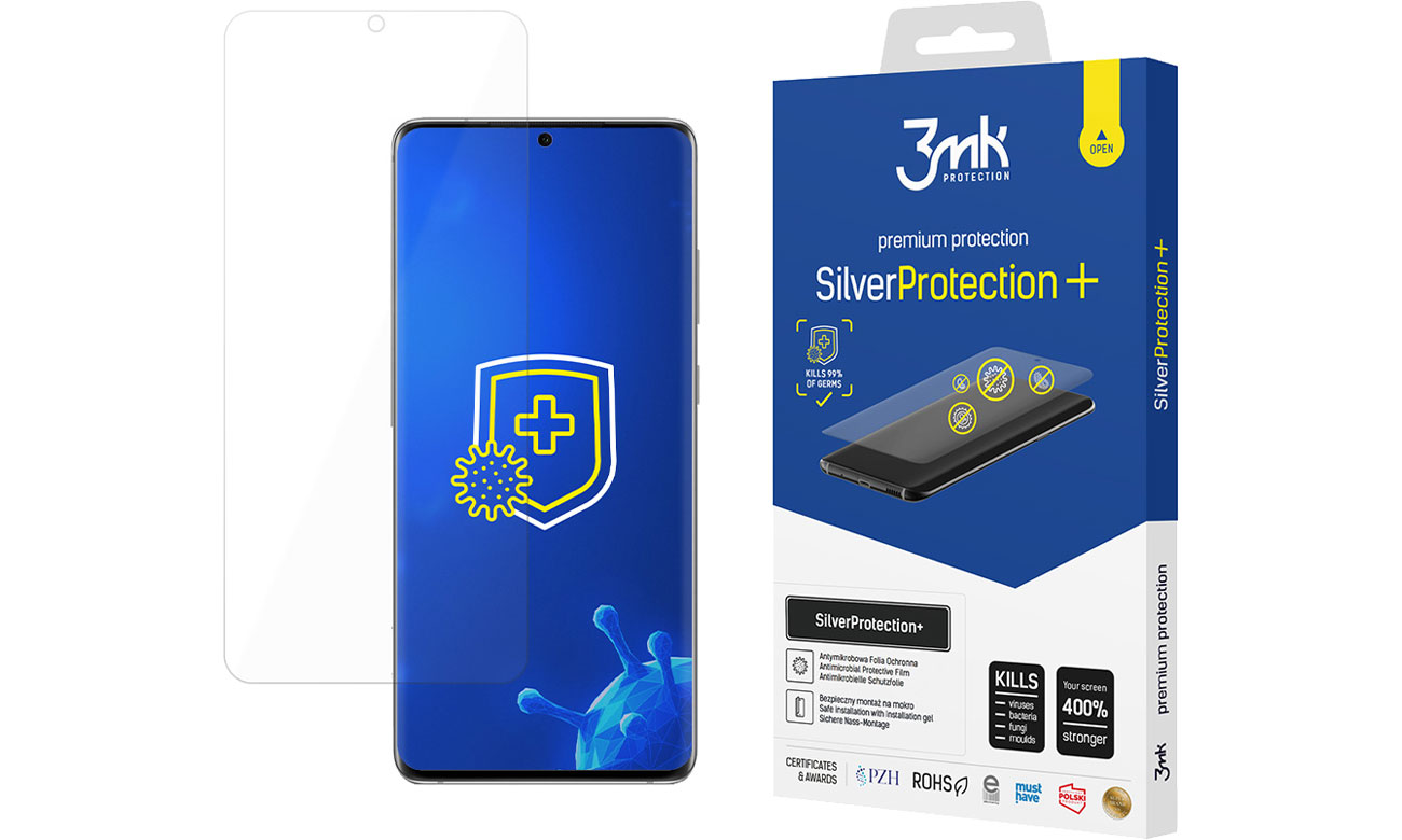 Folia / szkło na smartfon 3mk SilverProtection+ do Samsung Galaxy S20+ 5903108302647