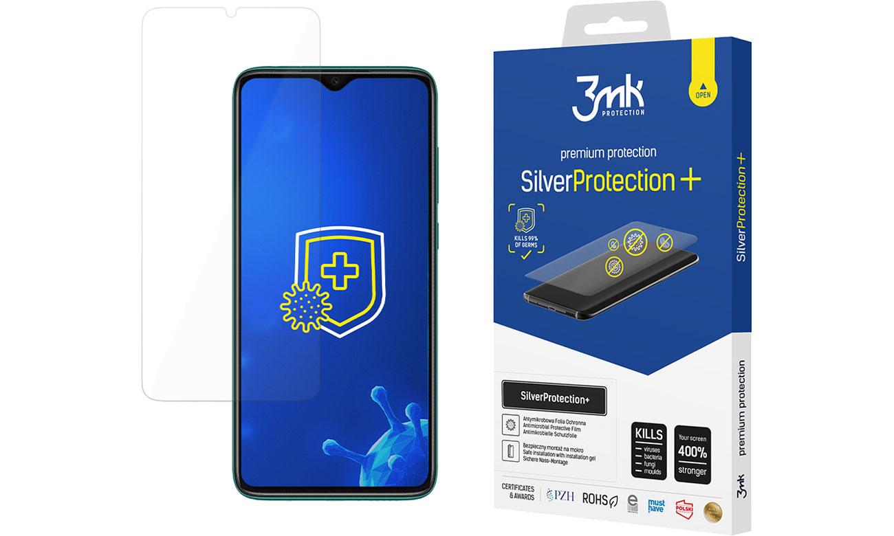 Folia / szkło na smartfon 3mk SilverProtection+ do Xiaomi Redmi Note 8 Pro 5903108303606