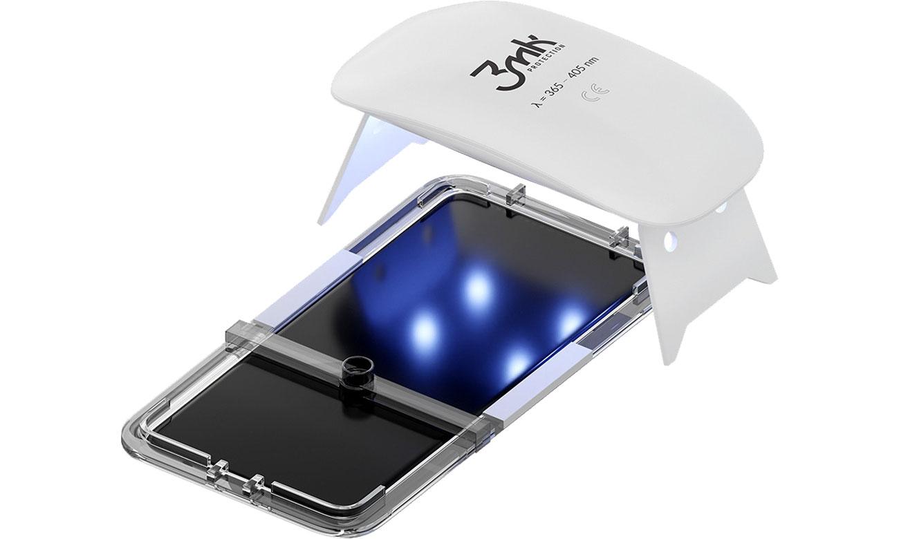 3mk UV Glass - Montaż z wykorzystaniem technologii UV