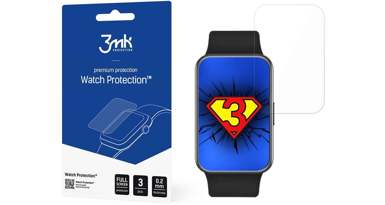 Folia ochronna na smartwatcha 3mk Watch Protection do Huawei Watch Fit 5903108308823