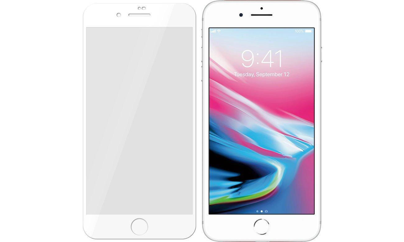 3mk Flexible Glass MAX do Apple iPhone 7/8 Plus White 5903108032360