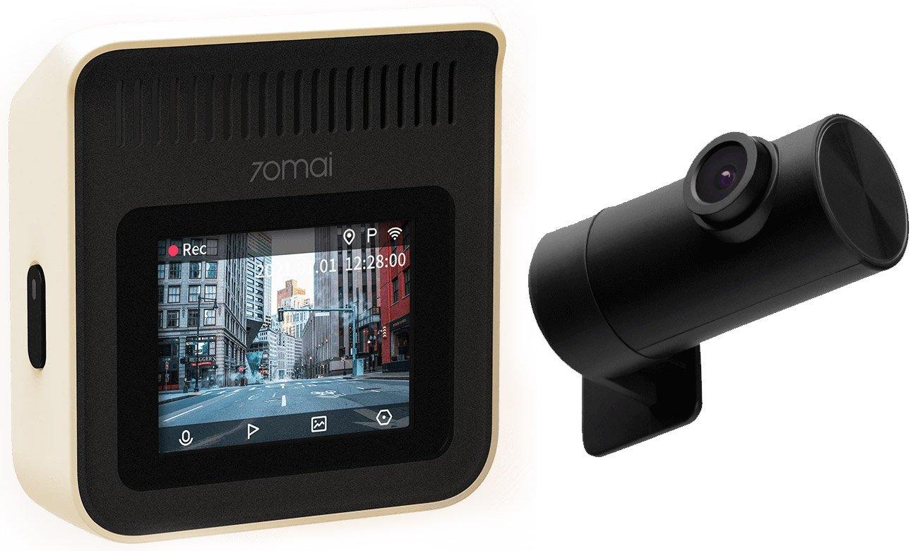 Podwójna ochrona dzięki dwóm kamerom