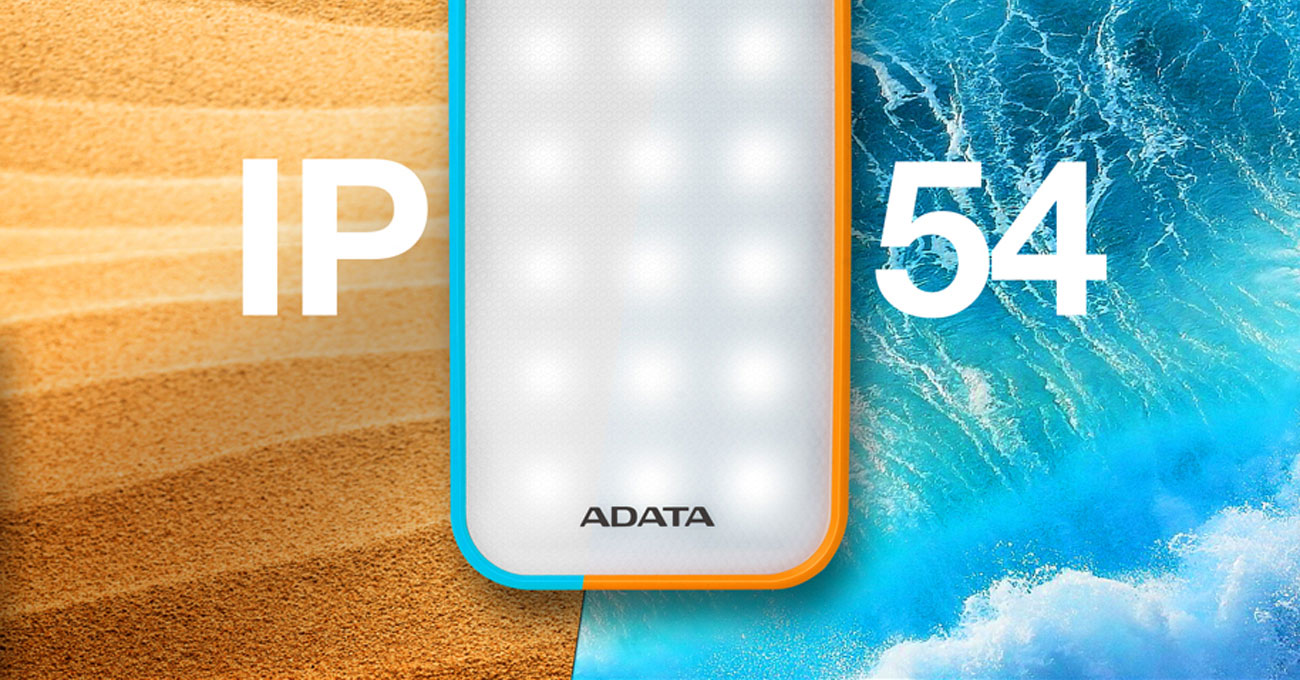 ADATA AD8000L-5V-COR odporność IP54