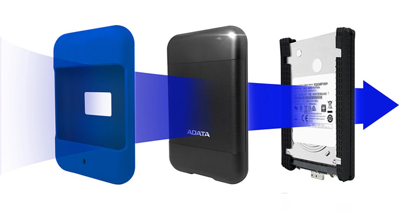 ADATA 1TB HD700 2.5 czarny