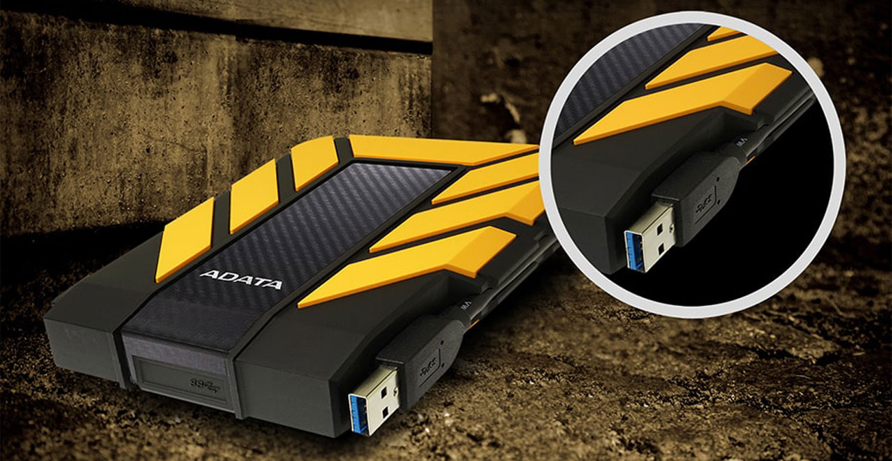 ADATA 1TB HD710 2.5 Chowany kabel USB