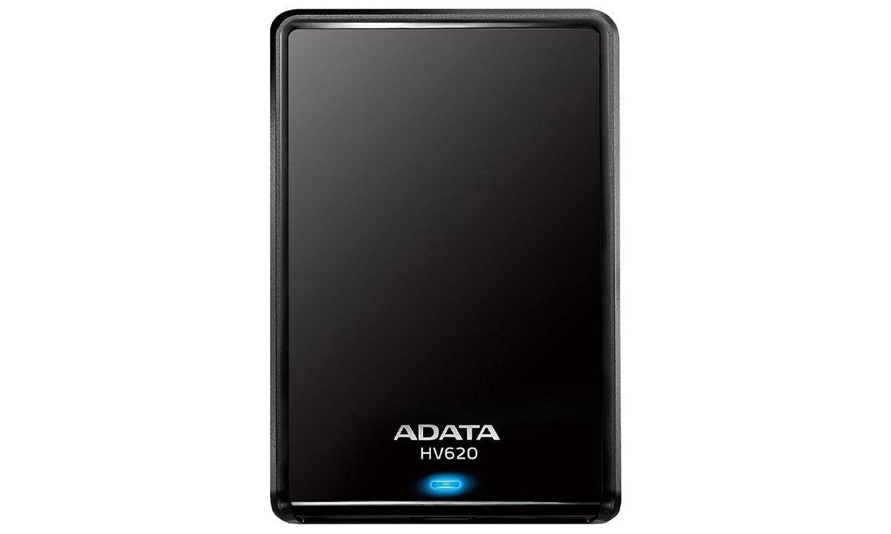 Dysk zewnetrzny ADATA 1TB HV620S Smukły i elegancki