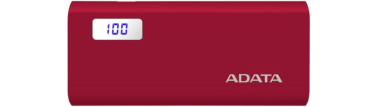 Powerbank ADATA P12500D 12500mAh 2A AP12500D-DGT-5V-CRD