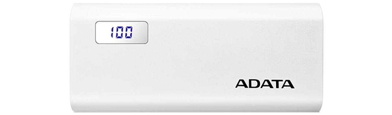 Powerbank ADATA P12500D 12500mAh 2A AP12500D-DGT-5V-CWH