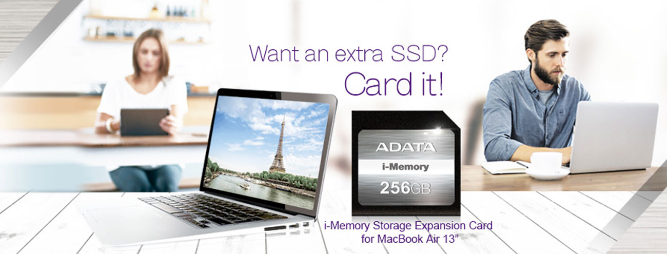 ADATA 128GB SDXC MacBook Air