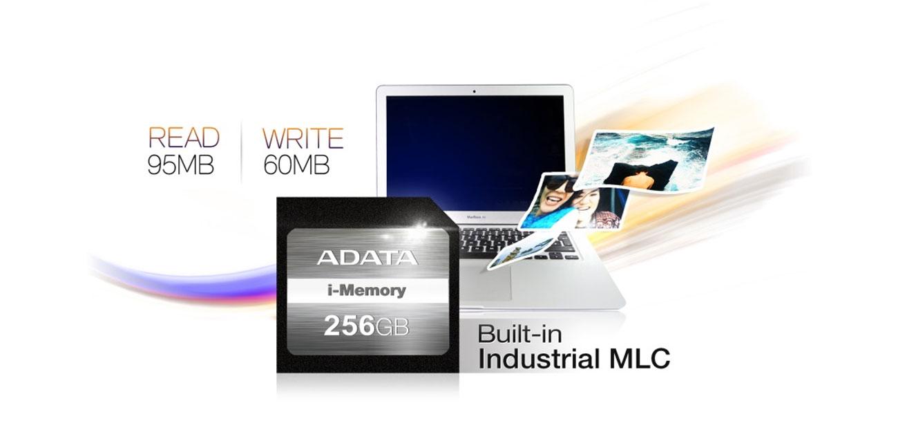 ADATA 128GB SDXC MacBook Air instalacja Plug Play