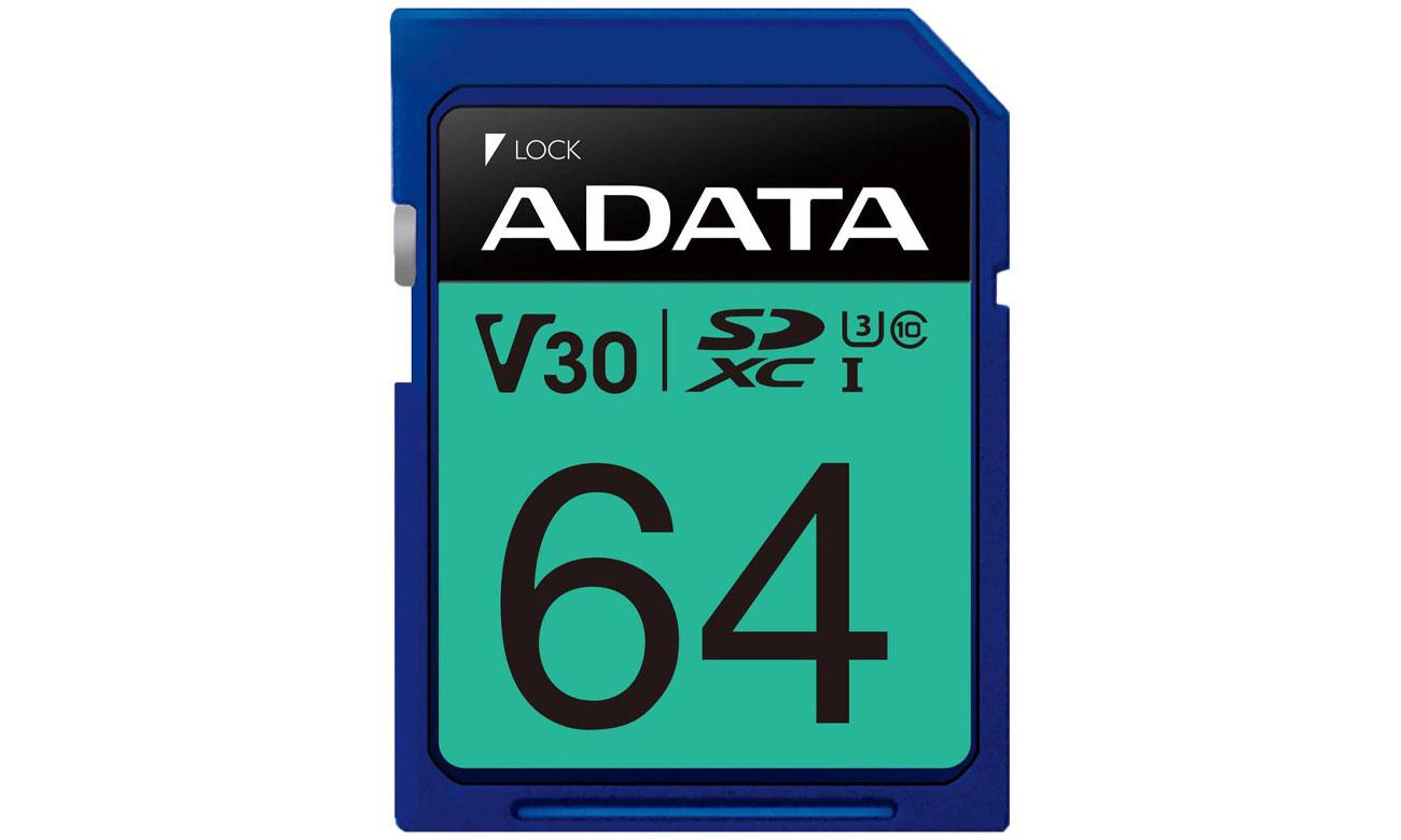 Karta pamięci SD ADATA 64GB Premier Pro