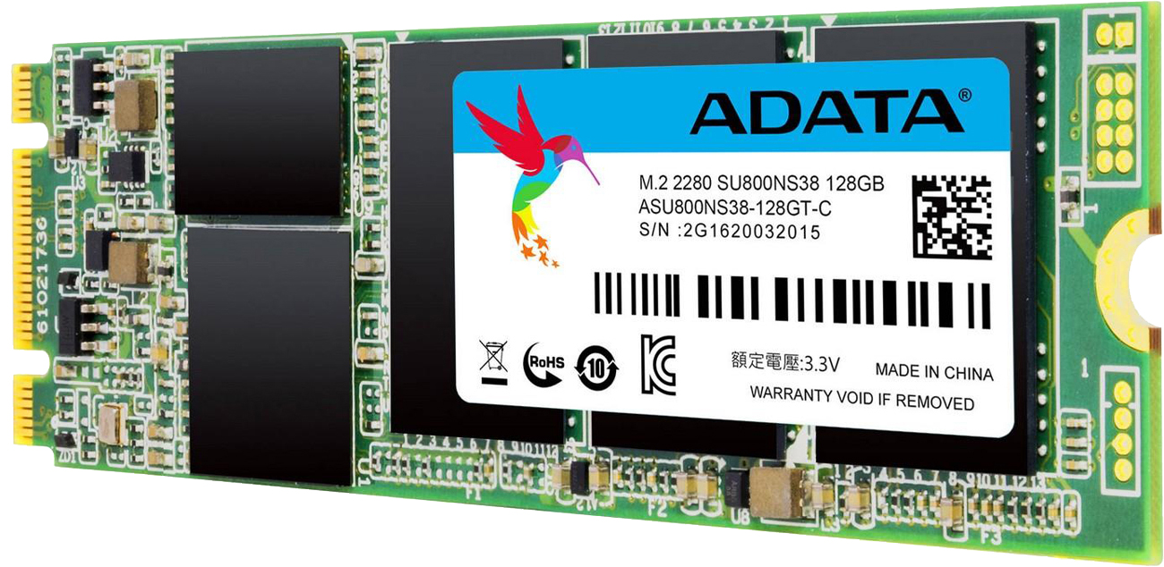 ADATA 128GB SSD Ultimate SU800 M.2