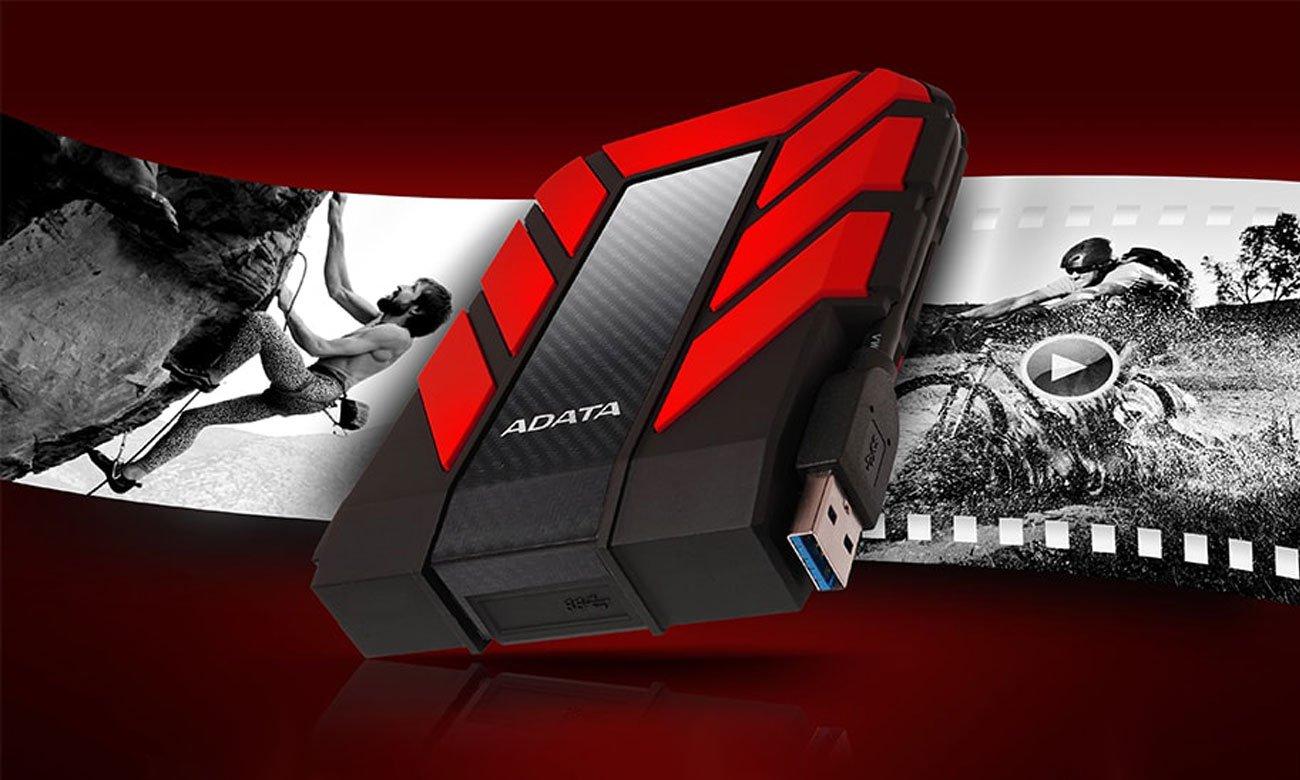 Zewnętrzny dysk twardy Adata HD710 Pro Niezwykle wytrzymały i bezpieczny