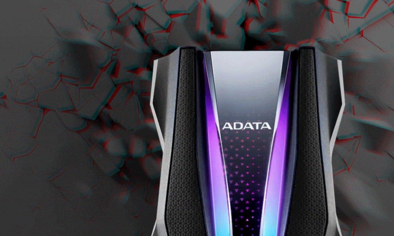 Dysk przenośny ADATA HD770G 2TB czerwony