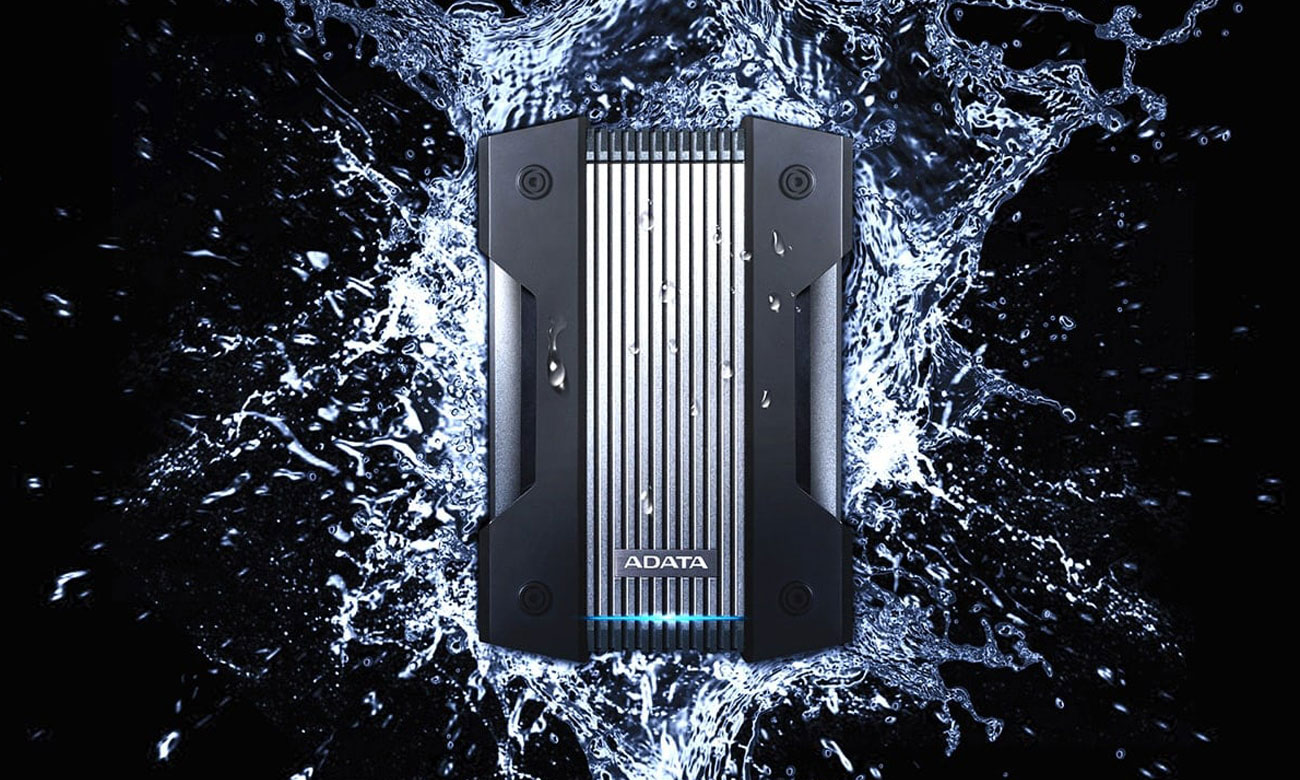 Dysk zewnetrzny ADATA HD830 2TB Woda Pył