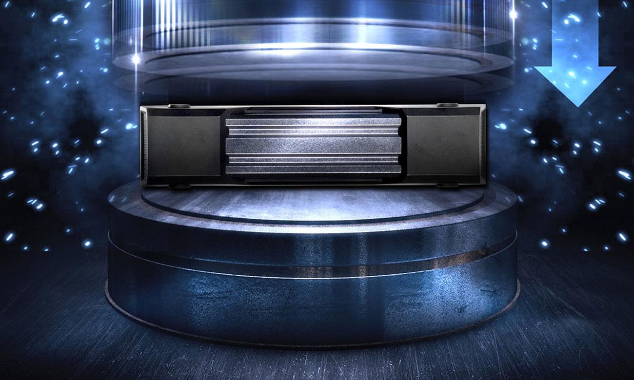 Dysk zewnetrzny ADATA HD830 2TB Nacisk