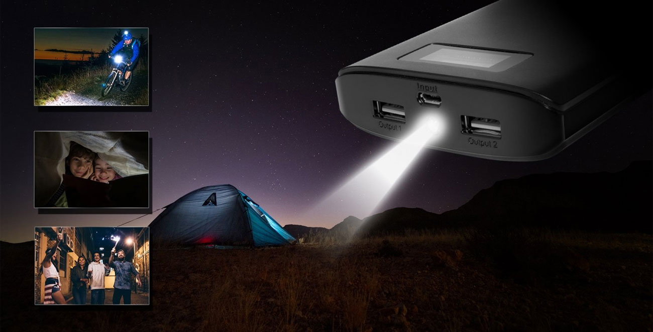 ADATA P20000D latarka LED