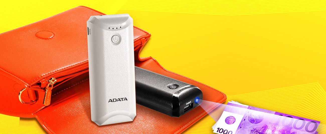 Power bank ADATA P5000 Niebieski