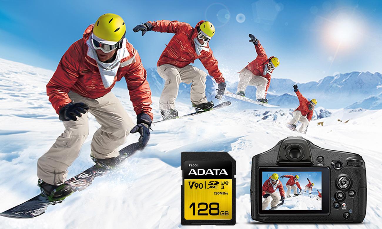 Karta pamięci SD ADATA Premier ONE Burst
