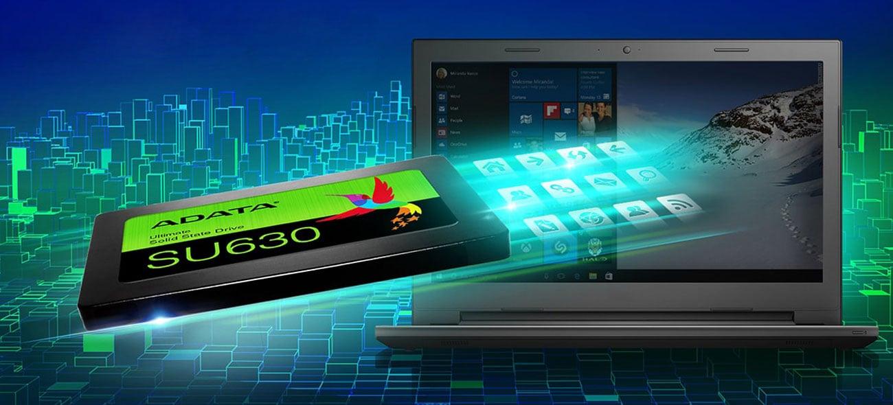 Kostenloses Herunterladen von ADATAs SSD Toolbox und Migration Utility mit dem SU630