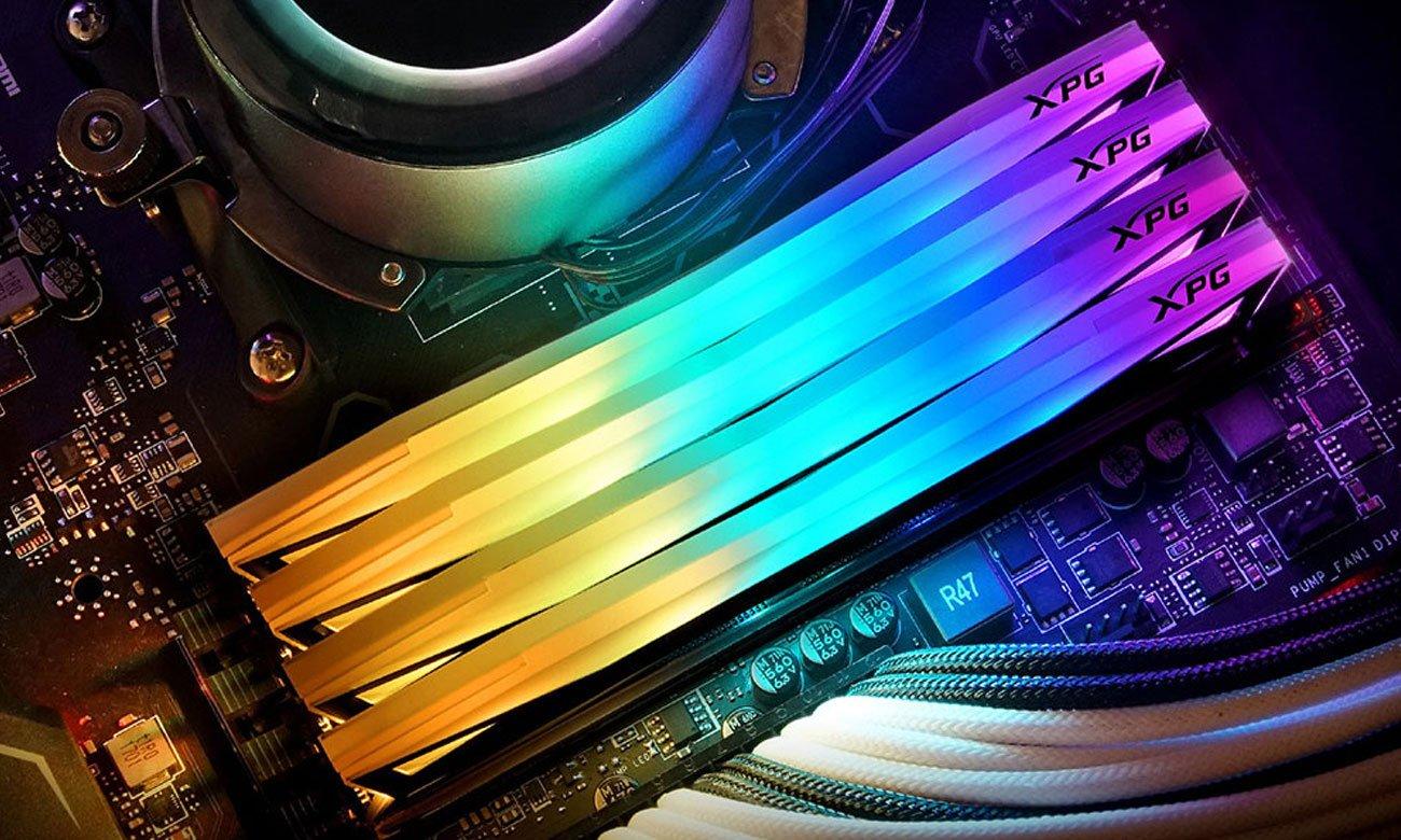 ADATA Spectrix D60 - Podświetlenie RGB