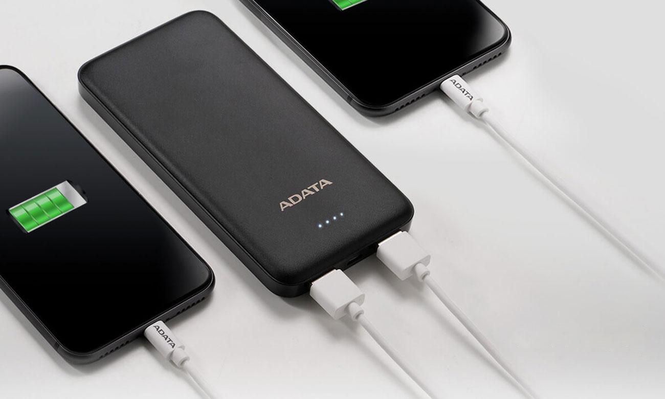 ADATA T10000 - Dwa porty USB