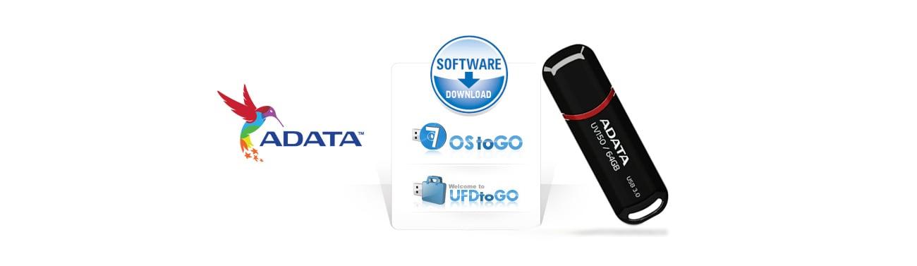 ADATA 32GB DashDrive UV150 czarny