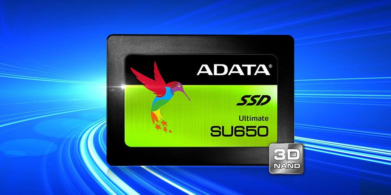 Dysk półprzewodnikowy ADATA Ultimate SU650